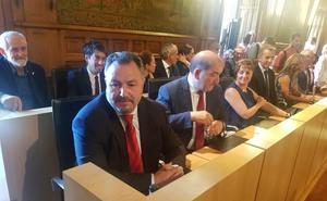 En directo | Eduardo Morán, asume las riendas de la Diputación de León