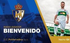 Nacho Gil refuerza la banda de la Deportiva