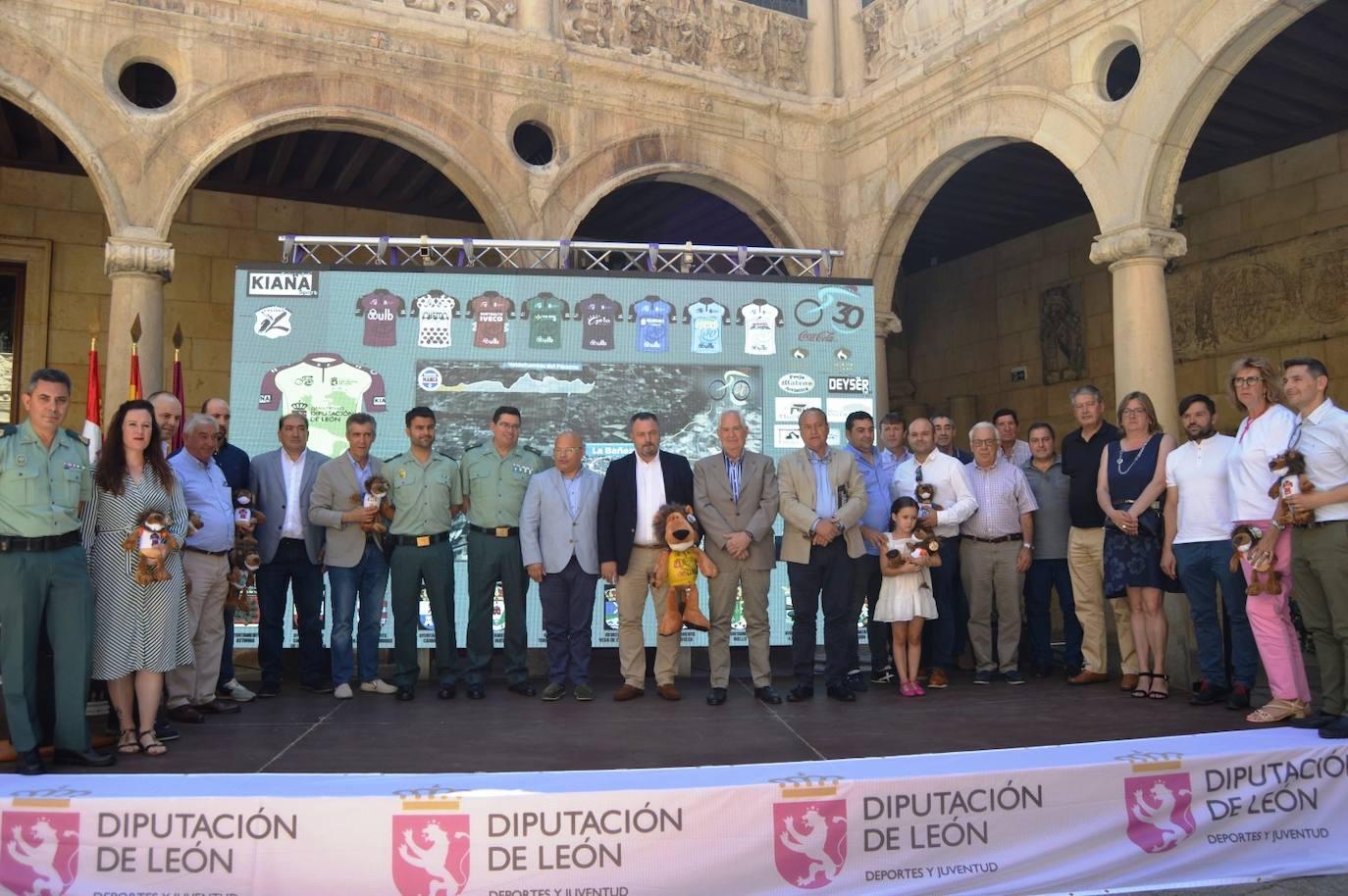 Presentación de la Vuelta a León
