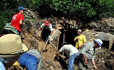 Promonumenta acondiciona la ermita de Robledo de Omaña después del robo de su 'Piedra del Grial'
