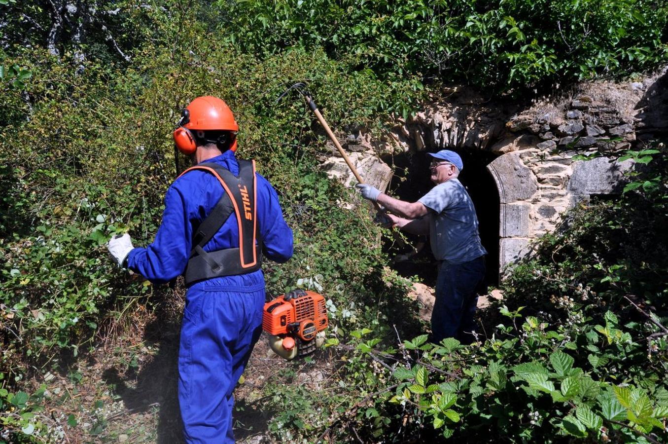 Promonumenta acondiciona la Ermita de Robledo de Omaña