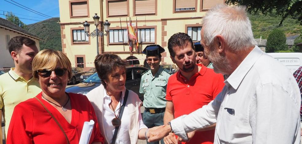 Tudanca subraya la lucha del PSOE para lograr oportunidades que mermen el envejecimiento y la despoblación