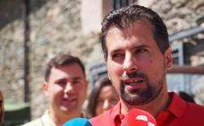 Tudanca pide a Mañueco «mesura» tras comparar a Maroto con Unamuno
