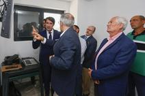 Suárez-Quiñones visita la Estación de Tratamiento de Agua Potable de Soto de la Vega
