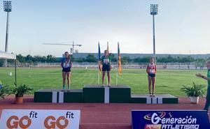 Los atletas de ULE Sprint Atletismo consiguen hasta once medallas en campeonatos de España