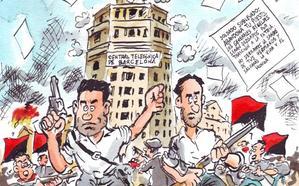La librería Elektra cómics de León rinde homenaje al revolucionario leonés Durruti