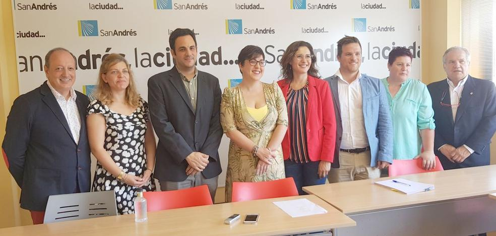 San Andrés quiere sacar «del hastío» a los vecinos y recuperar los servicios y la cultura en el municipio