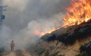 León, en estado de alarma por el alto riesgo de incendios forestales hasta el jueves