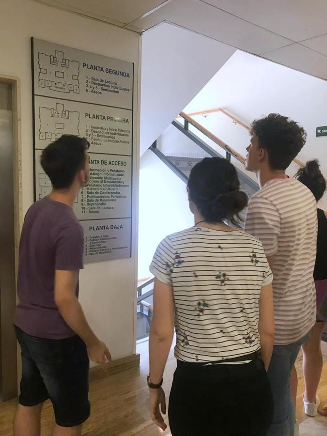 'Biblioscape' en la Universidad de León