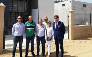 La estación depuradora de Oteruelo de la Vega comenzará las pruebas para entrar en funcionamiento «cuanto antes»
