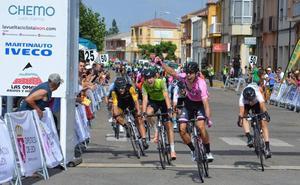 Ángel Fuentes repite triunfo en la segunda etapa de la Vuelta León