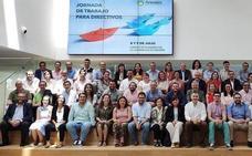 Peñacorada se reúne con los directivos de los colegios del grupo Arenales