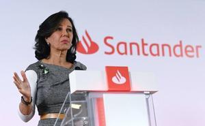 El Banco Santander gana un 14% menos por el coste del ERE del Popular