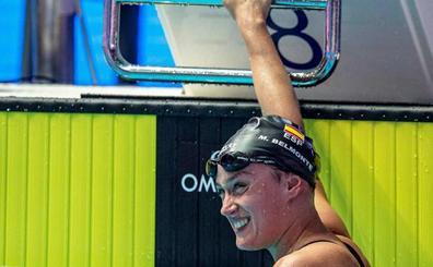 Mireia Belmonte, octava en los 1.500 libre ganados por Quadarella