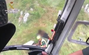El Greim rescata en Picos de Europa a un grupo de 25 scouts que se dirigía a Caín de Valdeón y se desorientó por la tormenta