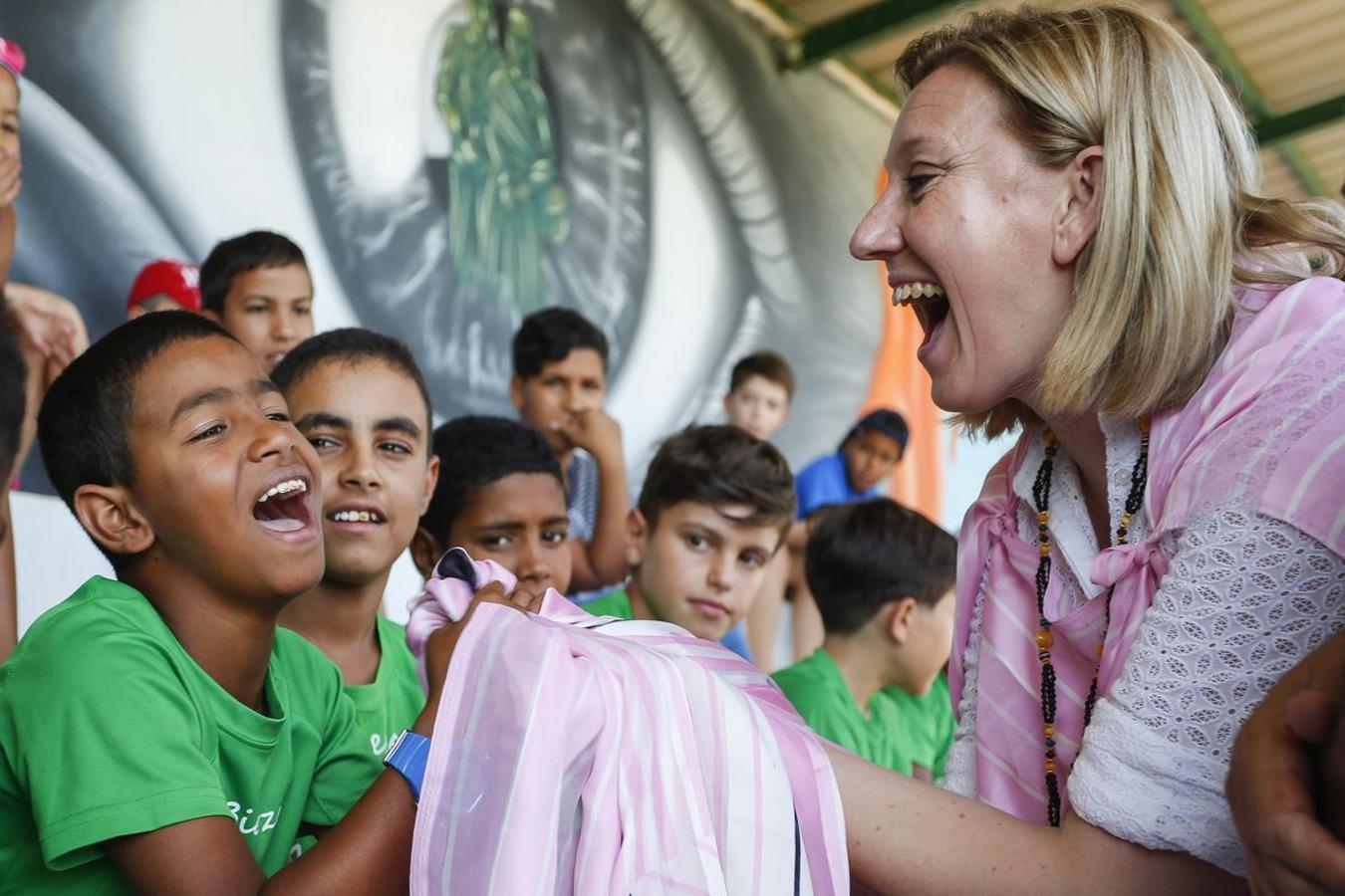 Niños saharauis en Valencia de Don Juan