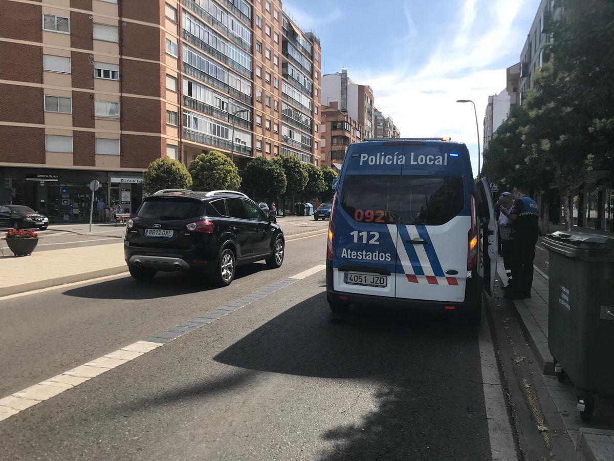 Una mujer sufre un atropello en Fernández Ladrera, de la capital leonesa