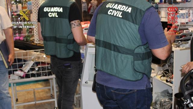 Operación de la Guardia Civil contra una banda dedicada al robo en albergues del Camino