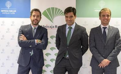 Unicaja Banco renueva su apoyo a las actividades del Fórum de Jóvenes de la Empresa Familiar de Castilla y León