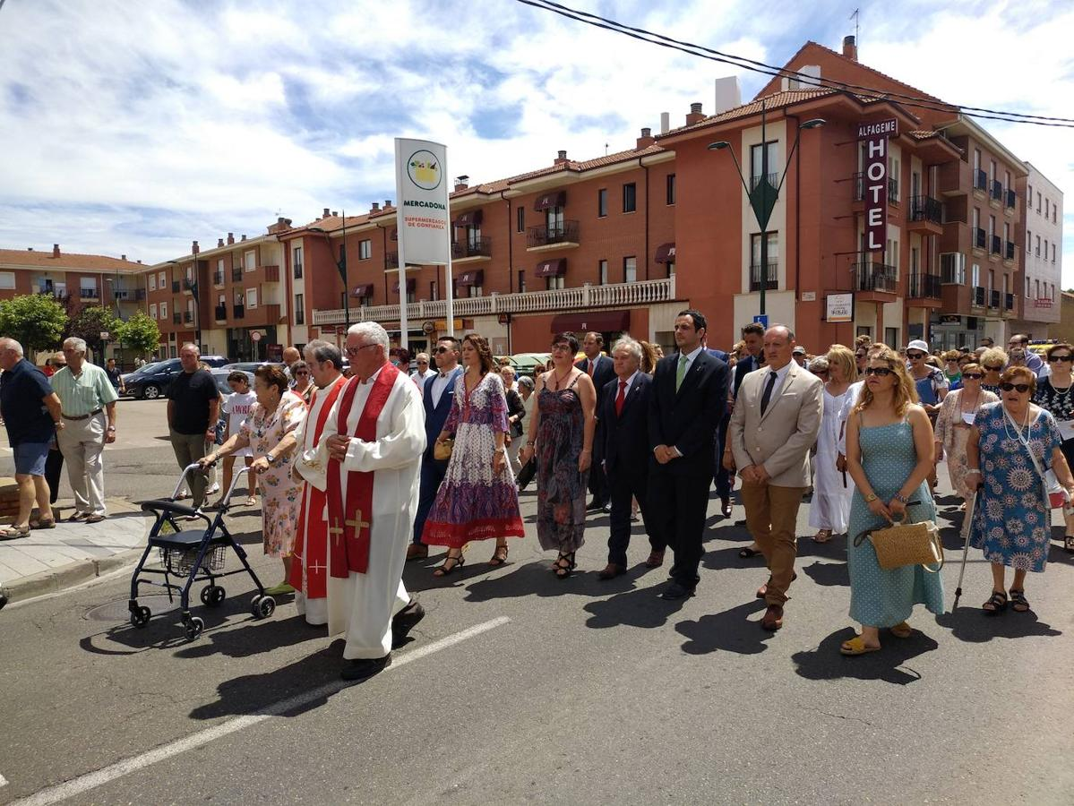 Trobajo del Camino honra a Santiago Apóstol