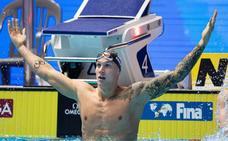 Dressel, el más rápido de la historia en 100 metros sin bañador mágico