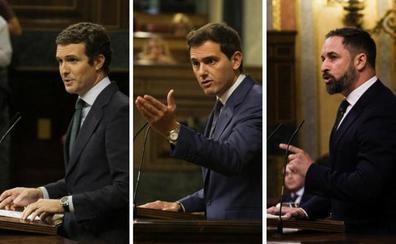 La oposición reprocha a Sánchez su incapacidad para pactar