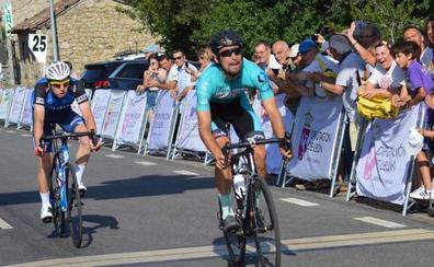 Gerard Armillas se coloca líder en la Vuelta León tras ganar la tercera etapa