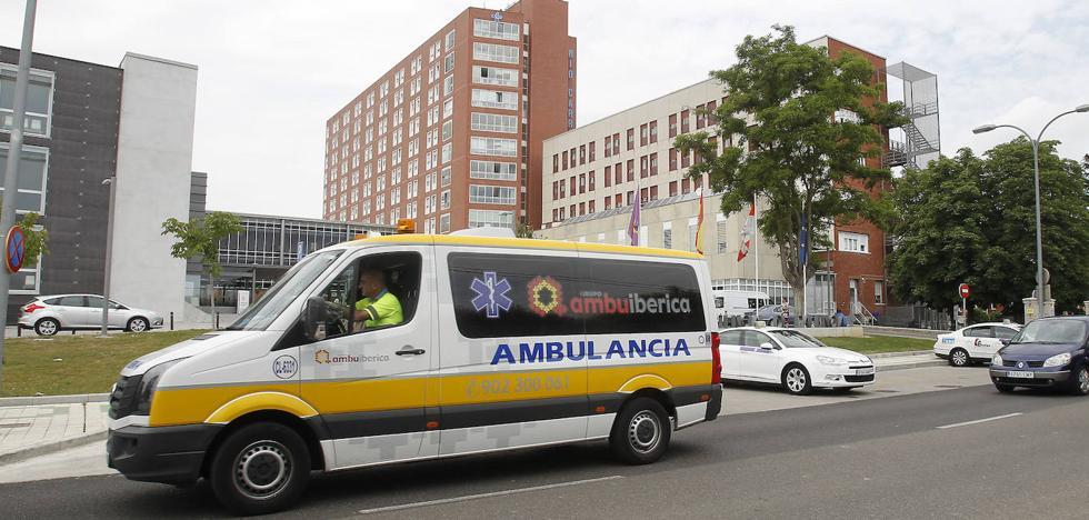 Herida en un accidente en Paredes al salirse el coche que conducía
