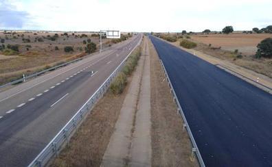 Fomento avanza en la reconstrucción de la A-66 con la rehabilitación de ochos nuevos kilómetros sentido Benavente