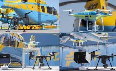 Tres drones de la DGT multarán a partir de este jueves en las carreteras de León