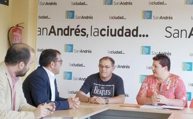 La concejala de Transportes de San Andrés traslada a Alsa las necesidades de mejora del servicio en el municipio