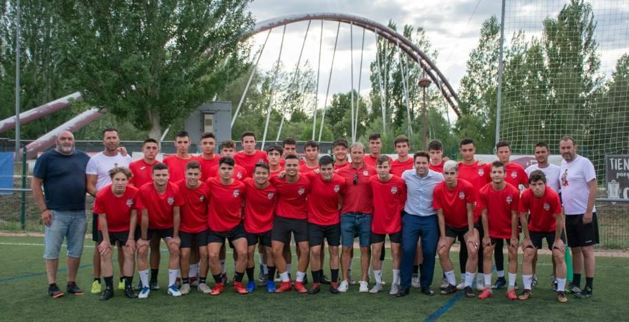 El Juvenil 'A' del Puente Castro FC vuelve a los entrenamientos
