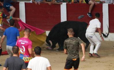 Un joven de 33 años, corneado en un gemelo en la plaza de toros de Íscar