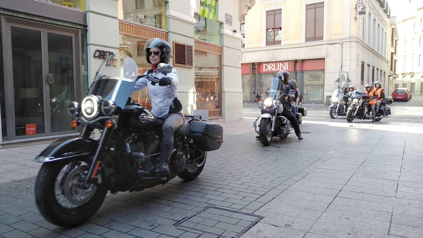 Las Harley-Davidson conquistan León