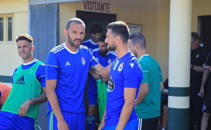 Las mejores imágenes del Deportivo-Ponferradina