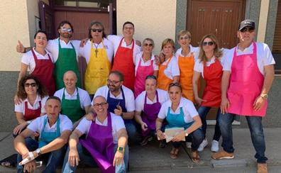 Los quintos del 69 celebraron su fiesta de reencuentro en Villoria de Órbigo