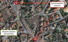 Cs San Andrés propone instalar un paso de cebra en la Avenida El Romeral