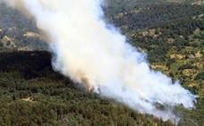 Riesgo extremo de incendios en Ávila y Segovia