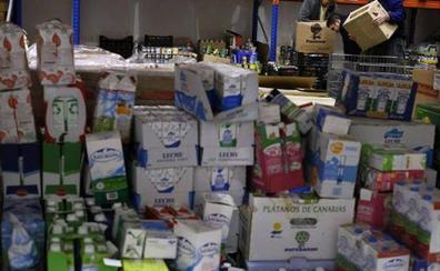 El Ayuntamiento de León dona 61 toneladas de comida al Banco de Alimentos para atender a casi 3.000 leoneses