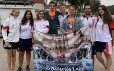 El CN León brilla en Navia