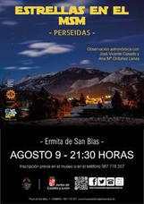 El Museo de la Siderurgia y la Minería de Sabero programa para el 9 de agosto una observación astronómica