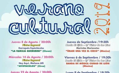 El Ayuntamiento de León inicia el verano cultural con un total de 13 espectáculos de circo, clown y música