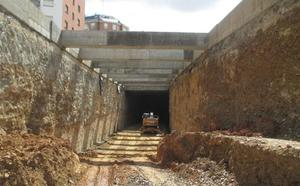 Adif se vuelca en el túnel de la integración del AVE y en la nueva estación con cien trabajadores