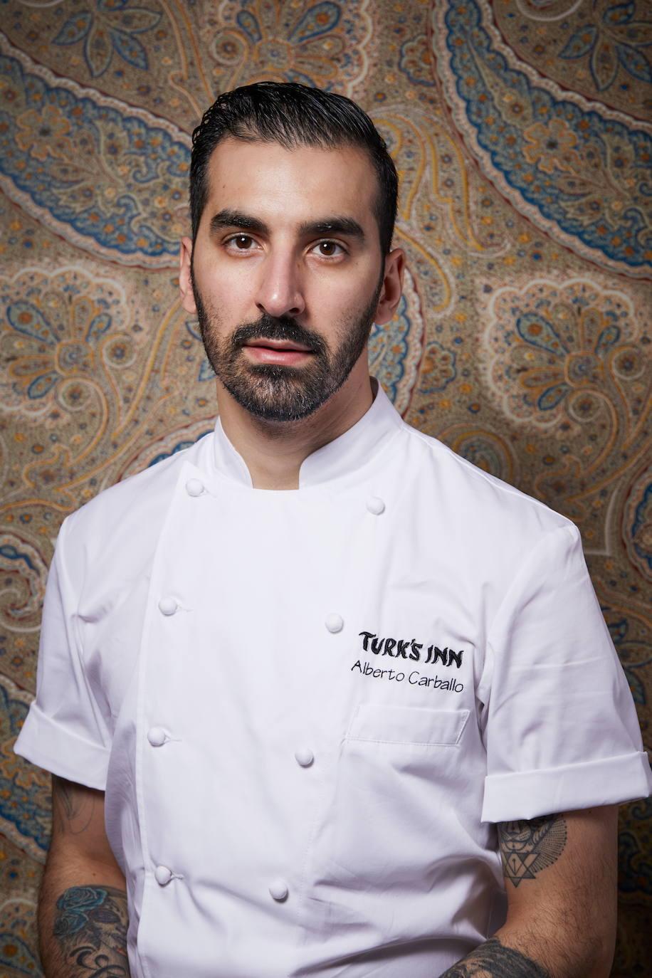 El cocinero berciano Alberto Carballo, chef del restaurante Turk's Inn de Nueva York