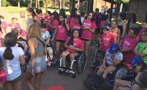 El XXII Campamento Aspaym en Cubillos del Sil culmina con el deporte inclusivo como protagonista