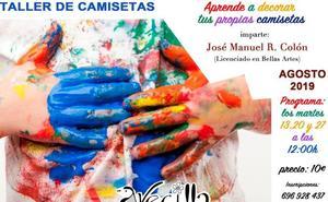 La Asociación Cultural Avecilla organiza un taller de camisetas y un torneo de play station de fútbol