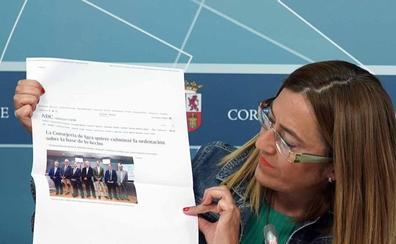 Barcones califica de «bochornosa» la ausencia de mujeres en los altos cargos de la Consejería de Transparencia