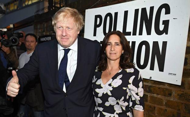 Boris Johnson y Marina Wheeler./EFE