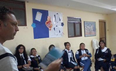 Jesús Fernández Olmedo impulsa una marcha cicloturística por León para recaudar material escolar