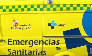 Dos jóvenes heridos en un accidente de moto en la localidad de Labaniego